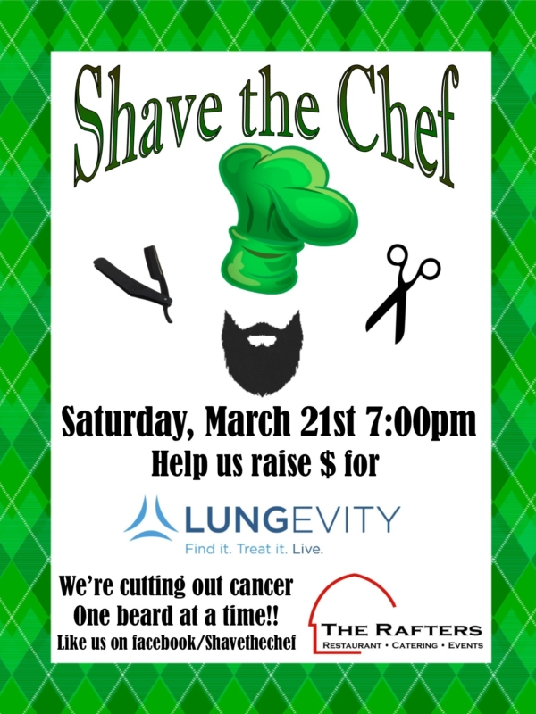 Shave the Chef!!!