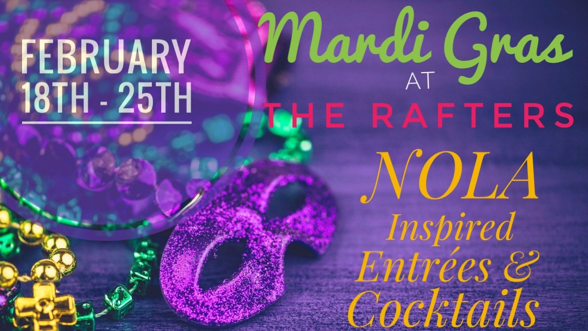 Mardi Gras at The Rafters