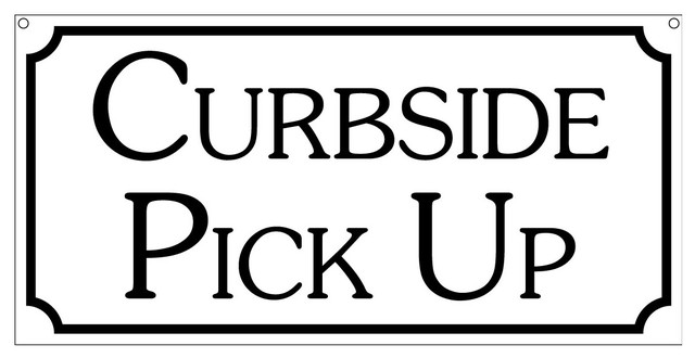 CURBSIDE AND MORE…